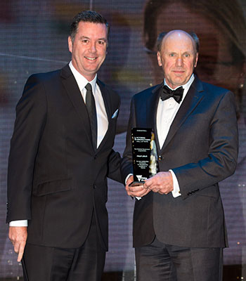Philip Leslie was added to the Honour Roll by the Minister for Industry and Employment, Wade Noonan