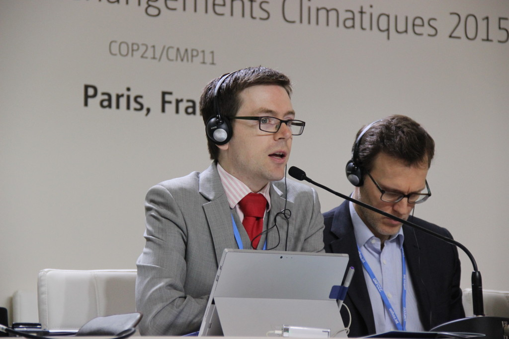 Tennant Reed describes the voice afforded to Australian business in the setting of national climate commitments at a specially convened forum at COP21 on Thursday