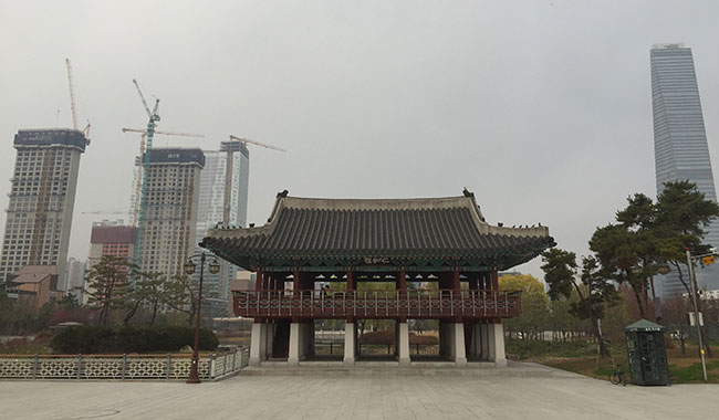 South Korea: blending the old and the new