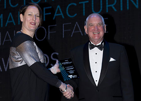 WBT Managing Director, Mr Neil Domelow received the award on behalf of all the WBT employees